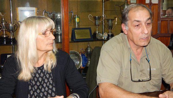 Graciela Vadillo y Aldo Esteban detallaron aspectos de la 120 expo rural de 9 de Julio