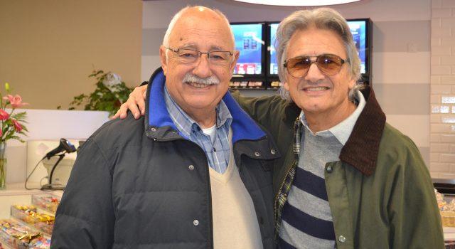 Jose y Jorge Logioco felices del buen momento de la empresa