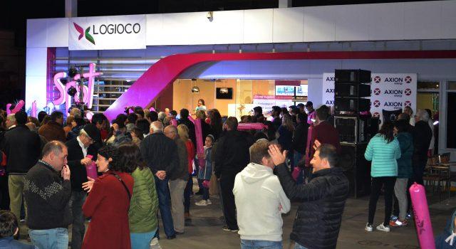 Mucho publico se hizo presente el dia sabado en Logioco Axion Energy