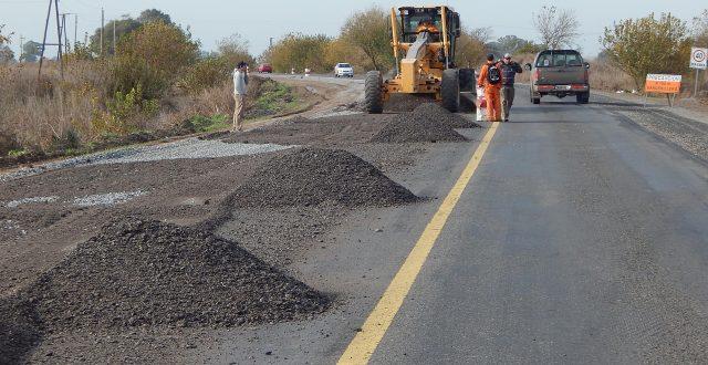 Repavimentacion de ruta 65 en un tramo de 33 km