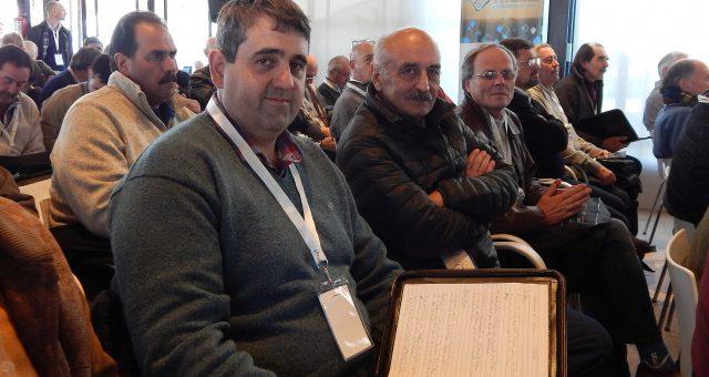 Hugo Enrique y Luis Vanina de Funuesa y de Sociedad Rural de 9 de Julio presentes