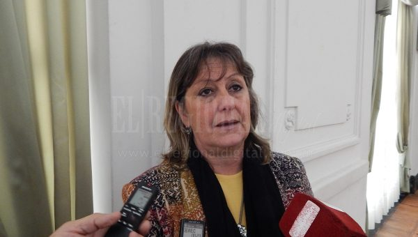 Liliana Vallabriga brindo tranquilidad sobre lo sucedido