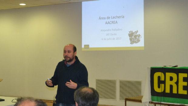 Alejandro Palladino Coordinador de Lecheria en Aacrea
