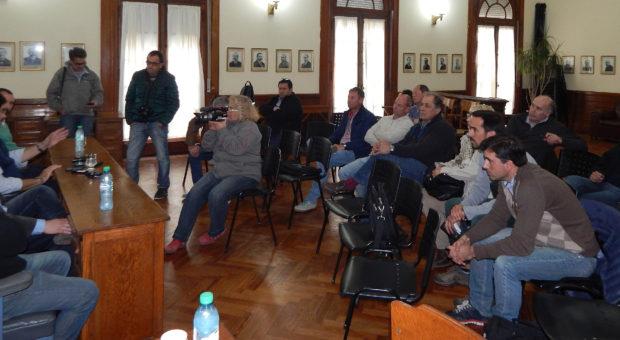 Asistentes a la reunion con Sarquis