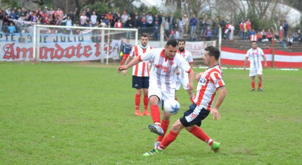 Atletico y el CAN entregaron un buen partido de futbol