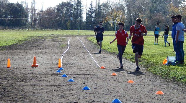 Carrera de 400 metros