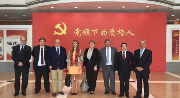Comitiva argentina donde participa el IPCVA en China