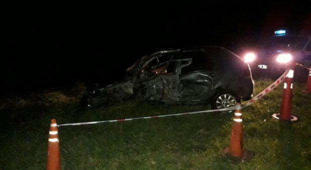 El automovil sufrio serios daños
