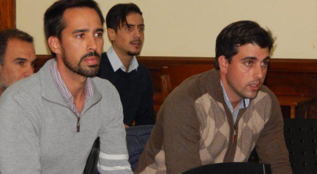 Ingenieros Romano y Fage se mostraron interesados en como avanza la Ley sobre agroquimicos en la provincia