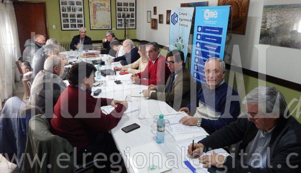 Instancia de la reunion del Nucleamiento en 9 de Julio