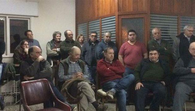 Instancia de la reunion en Urampilleta – foto La Manana de Bolivar