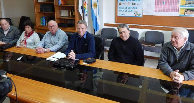Integrantes de la Comisión de Educación de la CEyS, Carlos Solari y Raul Barbato