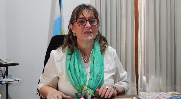 Liliana Vallabriga Jefa Inspección Distrital 9 de Julio