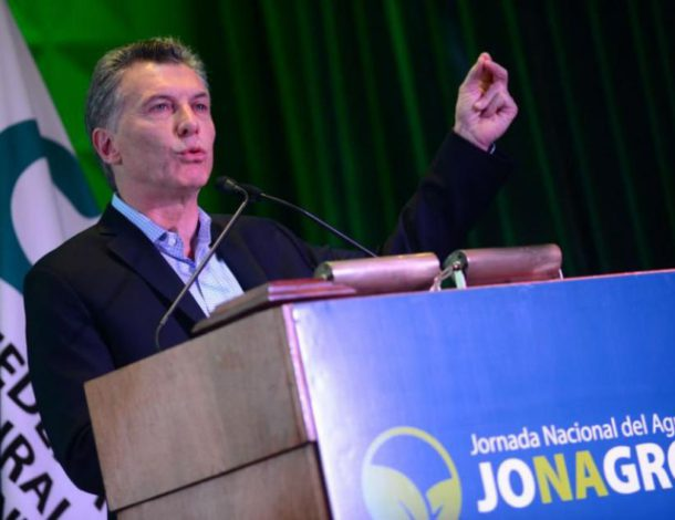 Mauricio Macri dejara inaugurada la segunda jornada nacional del agro