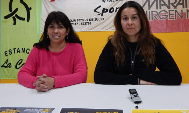 Monica Lucero y Marcia Molinari brindaron detalles de la 15 edicion de la Maraton Virgen Niña