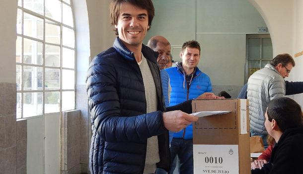 Paolo Barbieri recibio el respaldo de casi el 50% de la ciudadania de 9 de Julio