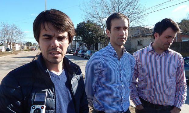 Paolo Barbieri, Pablo Petreca y Juan Fiorini