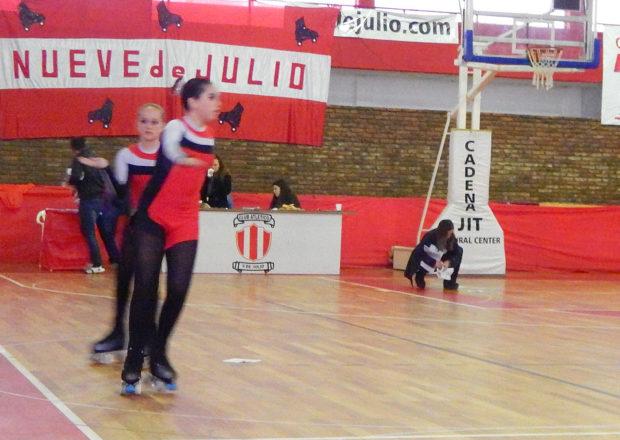 Patinadoras de Club Atletico 9 de Julio