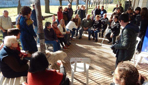 Reunion sobre pueblos rurales que se dio en Patricios