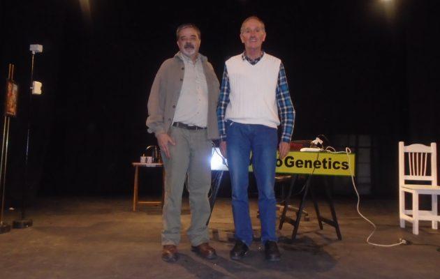 Santiago Hernandez y Guillermo Hough clasificaron en Teatro
