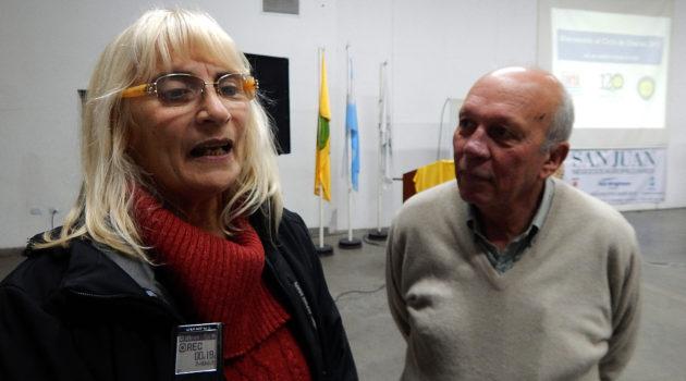 Graciela Vadillo y  Luis Ventimigilia en dialogo con El Regional Digital