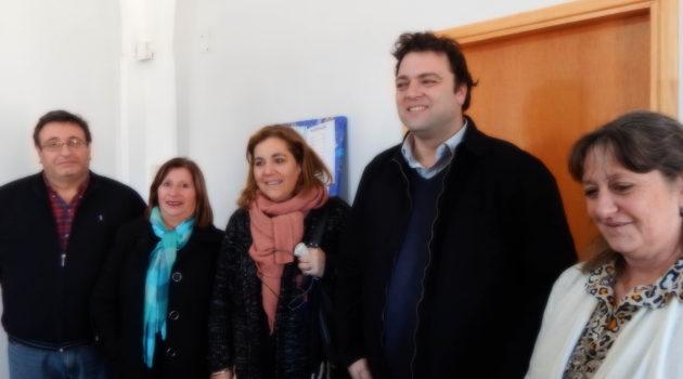 Vallabriga, Mariano Barroso y Consejeros Escolares presentes