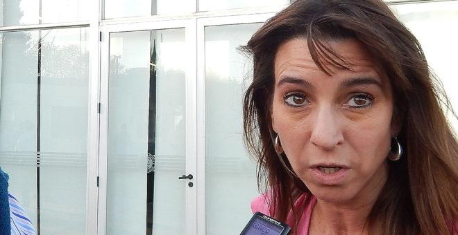 Andrea Passerini, posee su establecimiento de tambo en el sur del partido de Carlos Casares