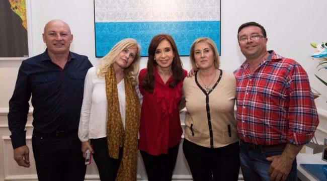 Delgado, Pianetti, Cristina Fernandez, Crespo y Martin – Foto Cuarto Politico