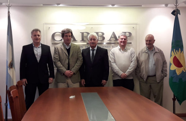 En CARBAP, se reunieron directivos del campo, industria y comercio bonaerense