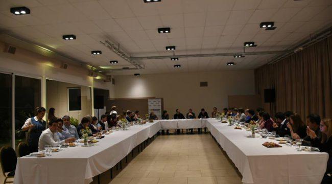 Instancia de la reunion en Chacabuco