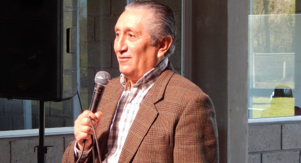 Jorge Reyes relato su historia de Malvinas, habiendola plasmada en un libro