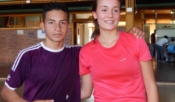 Juan Toledo y Angela Beraza ganadores de la 7ma Maraton Profesor Raul pastori