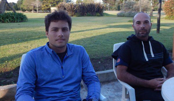 Miguel Sancholuz y Miguel Pavone