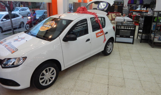 Renault Sandero 0km que se sorteara el 30 de diciembre