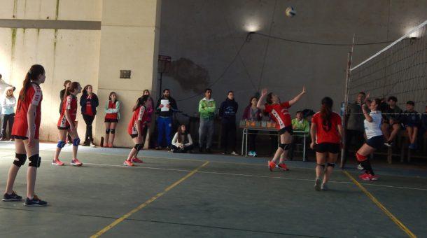Voleibol femenino entre 9 de Julio y Alberdi