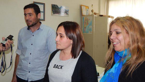 Agustin Diaz, Delfina Balbi y Marcela Rivero