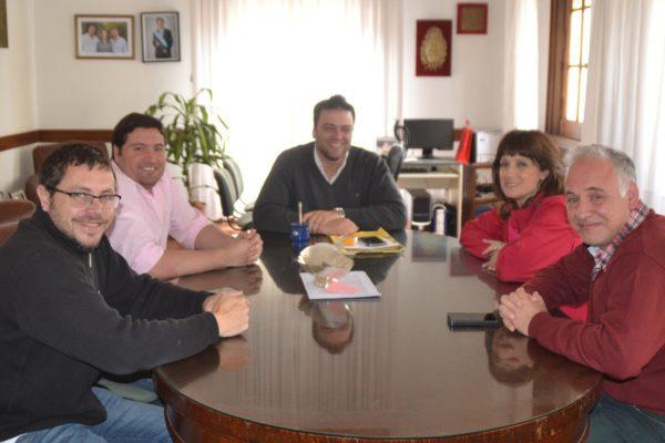 Barroso y Ripoll abordaron distintos temas
