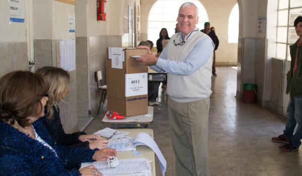 Walter Battistella busca un nuevo mandato como intendente