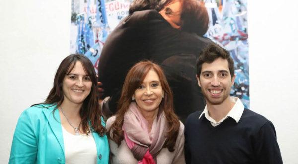 Defunchio y Parise junto a la candidata a Senadora nacional