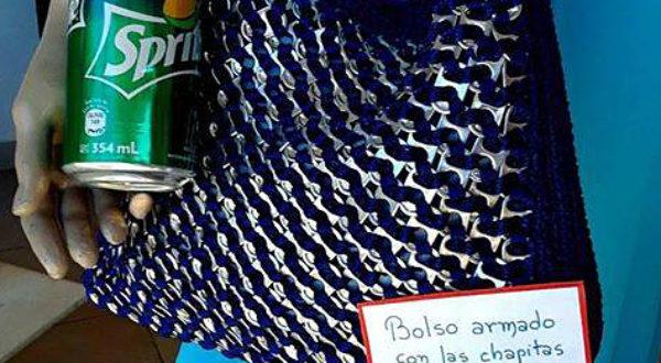 Diseño de un bolso con material reciclable