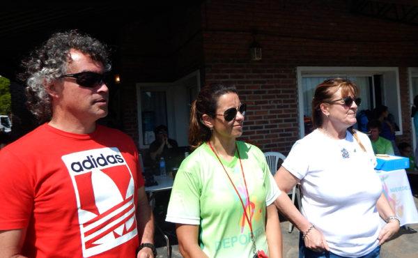 Fabio Haedo, junto Marcia Molinari y Silvian Odello