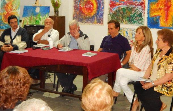 Gloria Tapia, Maria Orbea, Hector Carta, Nestor Gutierrez, Roberto Castro y Hector Iaconis