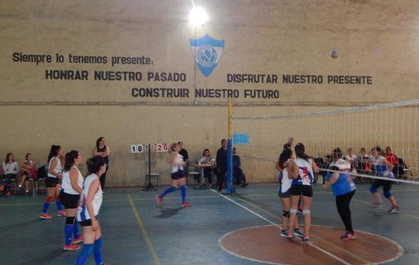 Instancia de uno de los partidos jugados entre San Martin y Ciudad 9 de Julio
