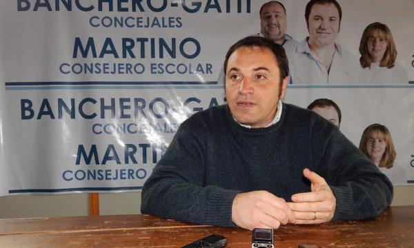Martin Banchero es candidato a Concejal por la lista 509