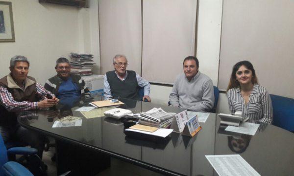 Reunion con el presidente de la CEyS Mariano Moreno