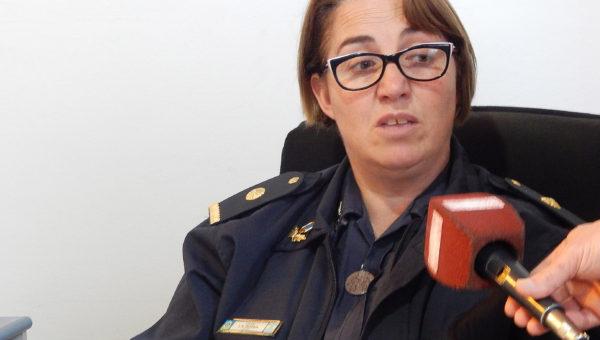 Sub Comisario Erica Figueroa expreso su preocupación por la participación de jovenes en delitos