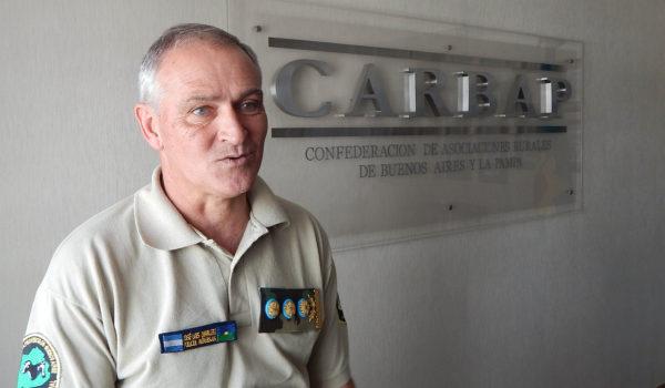 Comisario General Jose Luis Quarleri, Jefe de la Super Intendencia de Seguridad Rural