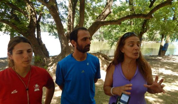 Karina de Buono, Alejandro Re y Bernada Destefano