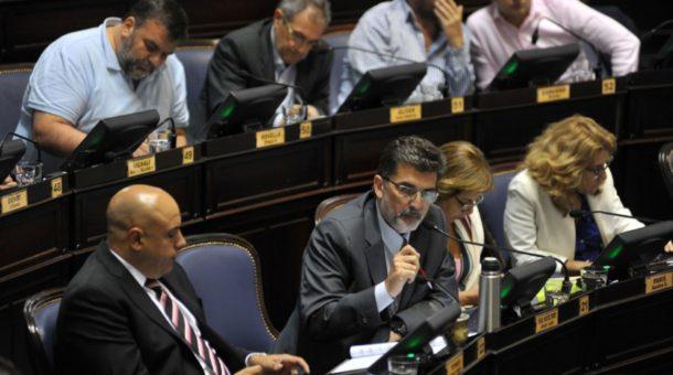 Diputado Jorge Silvestre, presidente del Bloque Cambiemos