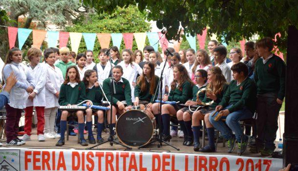 El inicio se dio con expresiones musicales de alumnos de distintos colegios